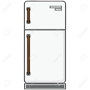 9584618-cartoon-illustration-showing-an-old-style-refrigerator-model