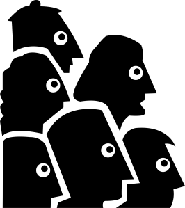 people-heads-staring-at-something-vector-file
