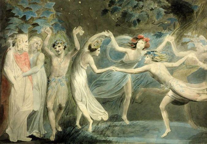Oberon,_Titania_and_Puck_with_Fairies_Dancing._William_Blake._c.1786