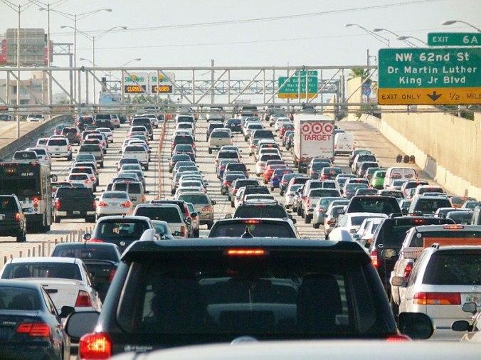 799px-Miami_traffic_jam,_I-95_North_rush_hour